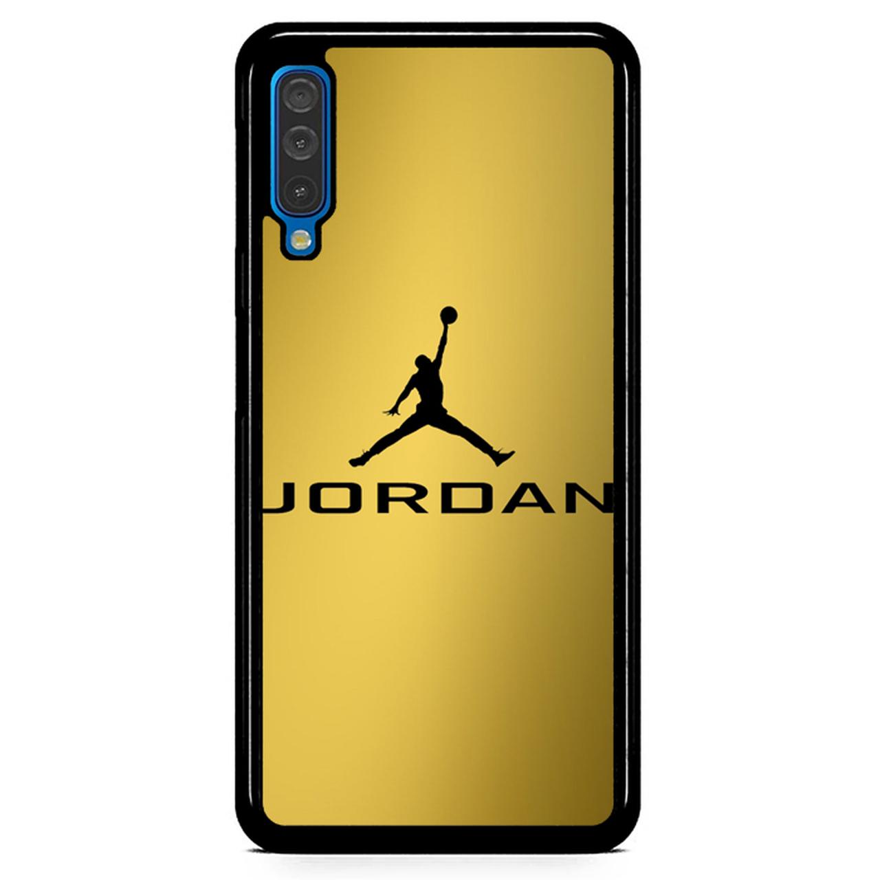 Michael Jordan Logo Gold Z4468 Samsung Galaxy A50 Premium Case.