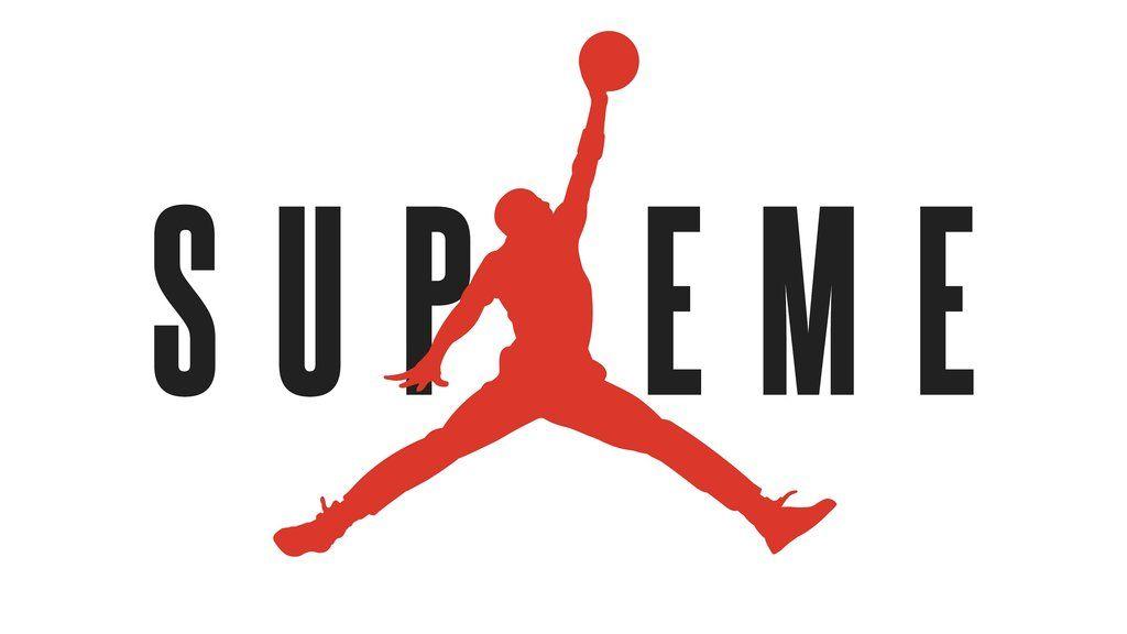 Supreme Jordan Logo Sticker (4.