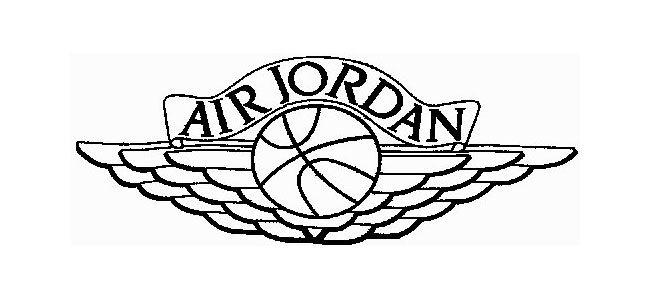 Air Jordan Wings Logo Vector images.
