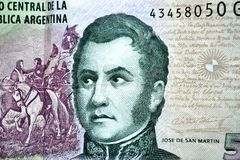 Jose De San Martin Stock Photo.