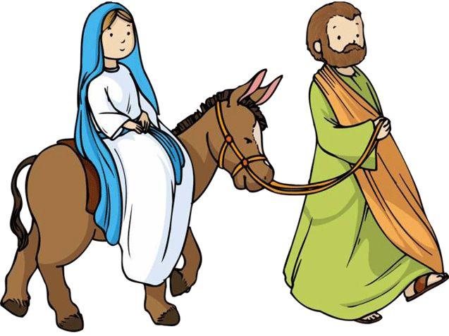 Maria und josef clipart.