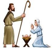 Virgin Mary Stock Illustrations.