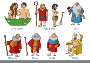 Bible Characters Joseph Clipart.