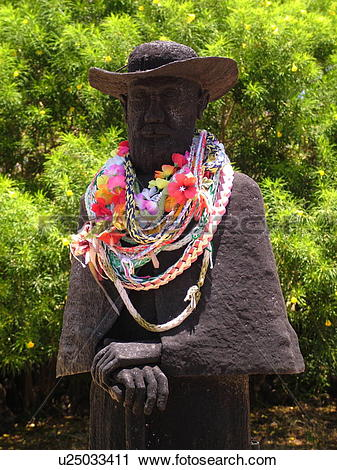 Stock Photography of Kamalo, Molokai, HI, Hawaii, East Molokai.