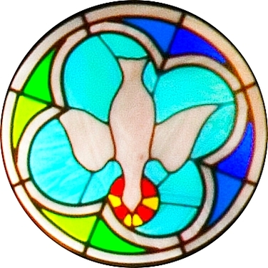St Joseph Church Rose Window Augustine Parish Clipart.
