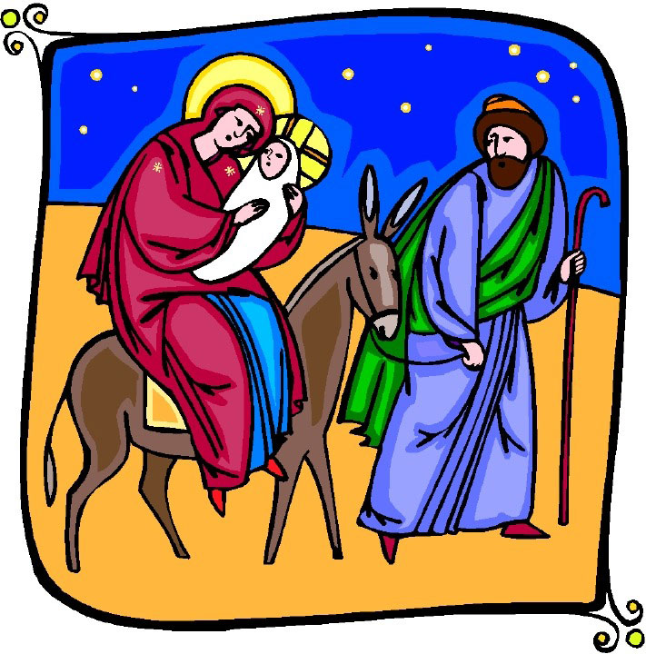 Christmas Jesus mary and Joseph.