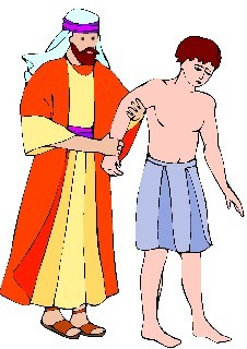 Clip Art of Joseph From the Bible.