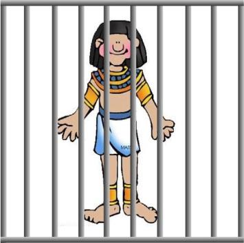 Joseph in Egypt.