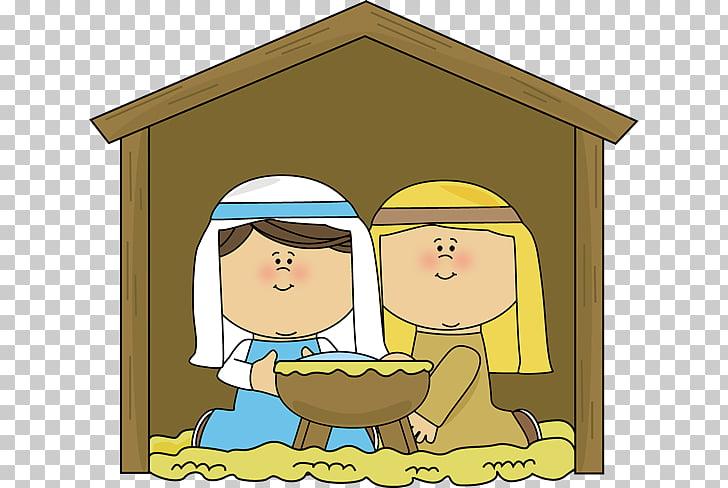 Nazareth Nativity scene Child Jesus , Mary Joseph s PNG.