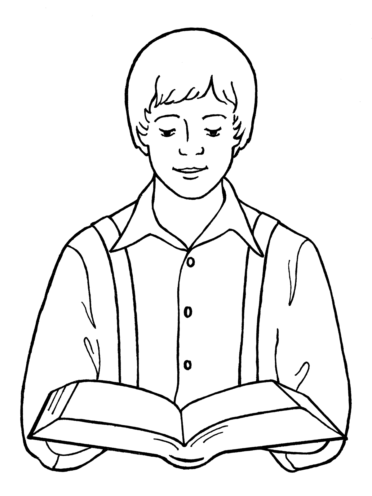 Joseph Smith First Vision Clipart.