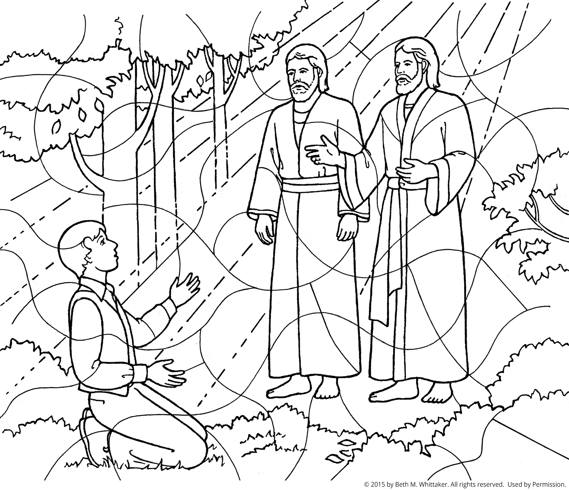 Free First Vision Coloring Page, Download Free Clip Art.