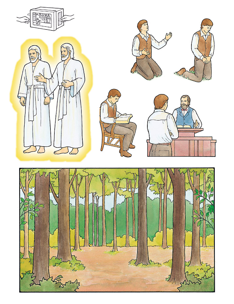 Sharing Time: Joseph Smith—Prophet of the Restoration.