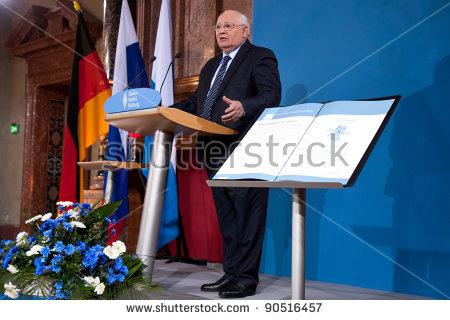Mikhail Gorbachev Stock Photos, Royalty.