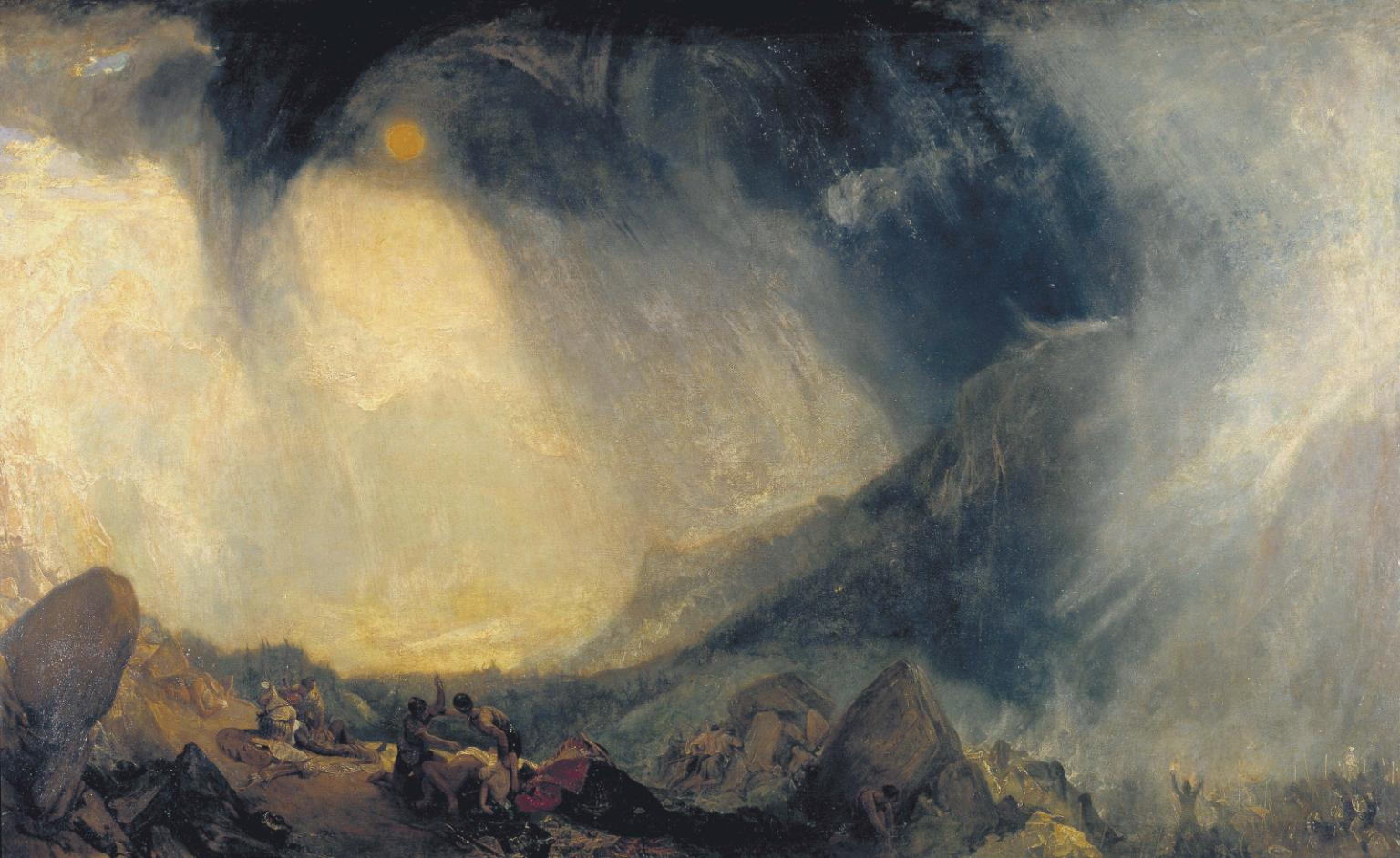 Turner Collection at Tate Britain.