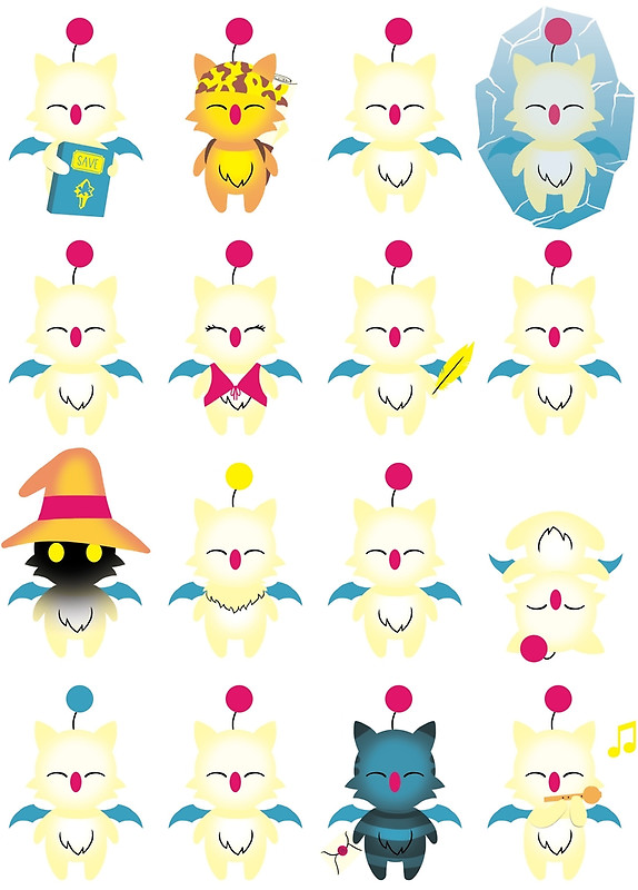 """Moogle Medley"""" Posters by Joseph Wright."""