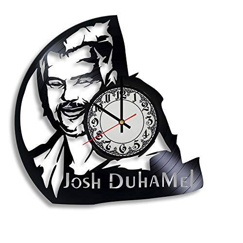 Amazon.com: Josh Duhamel actor vinyl record wall clock,Josh.