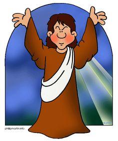 Jesus judging clipart.