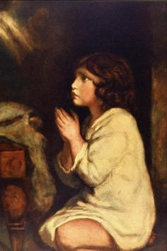 "Sir Joshua Reynolds, ""The Infant Samuel"" (c.1776)."