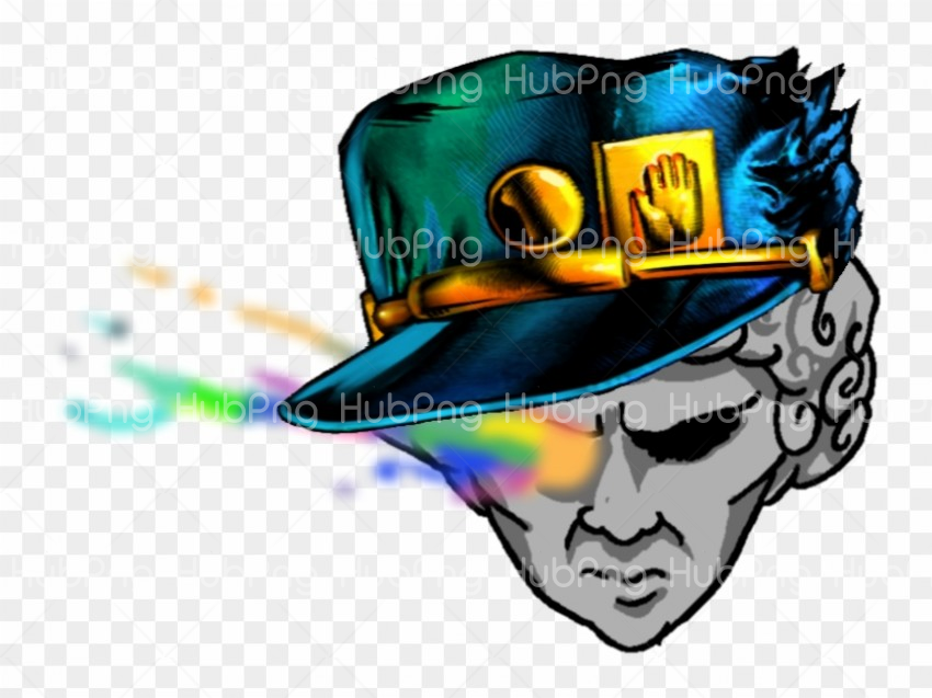 jotaro hat png clipart Transparent Background Image for Free.