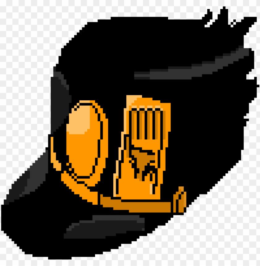 jotaro\'s hat.