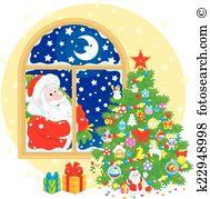 Joulupukki Clipart Illustrations. 161 joulupukki clip art vector.