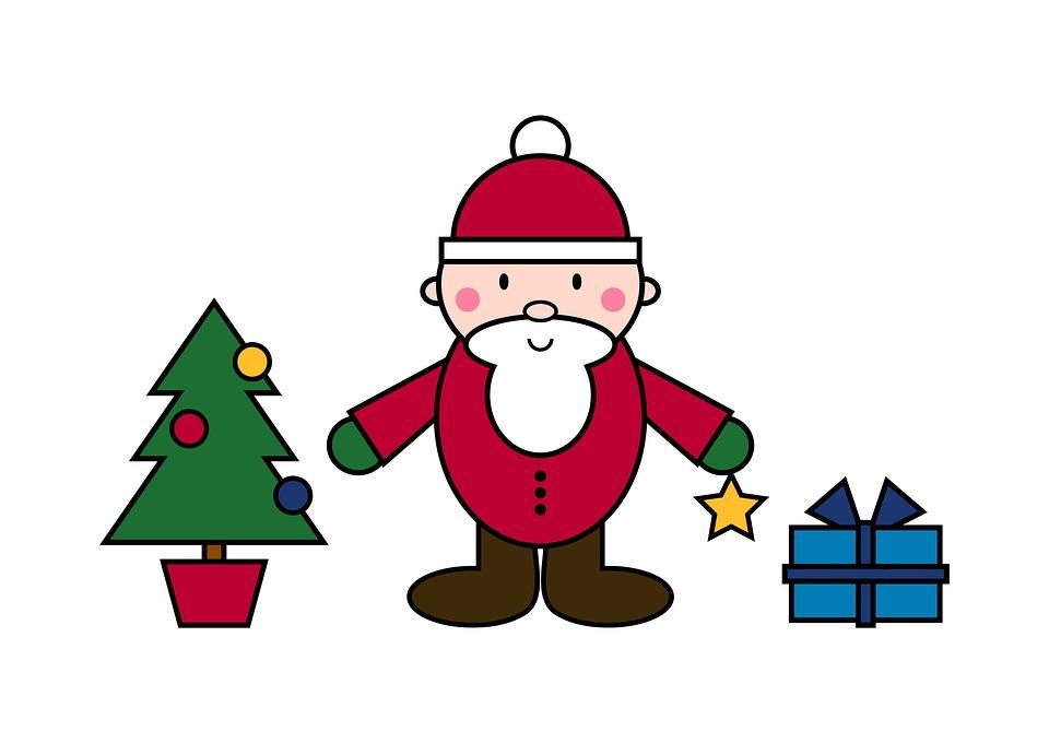 Free illustration: Santa Claus, Christmas, Figure.
