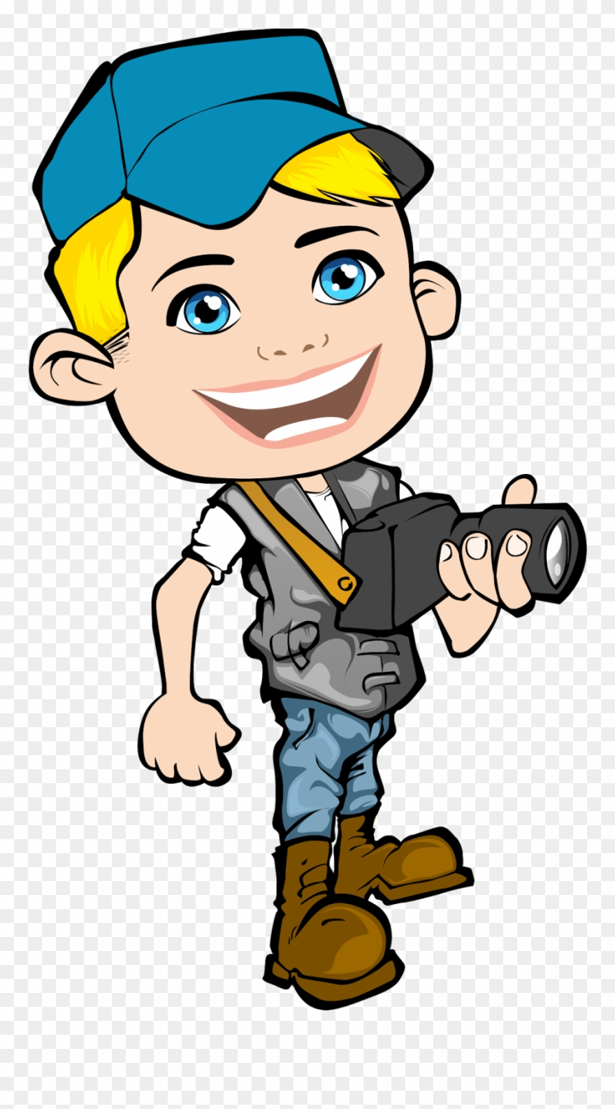 Journalist Clipart Media Reporter.