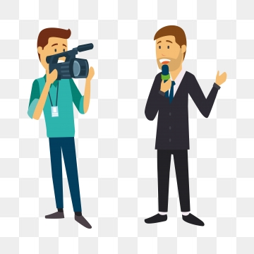 News Reporter PNG Images.