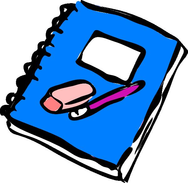 Math Journal Clipart.