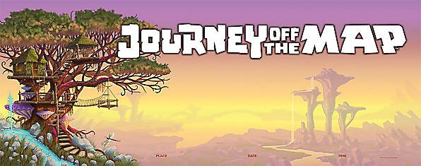 Journey Off The Map Vbs Clipart.