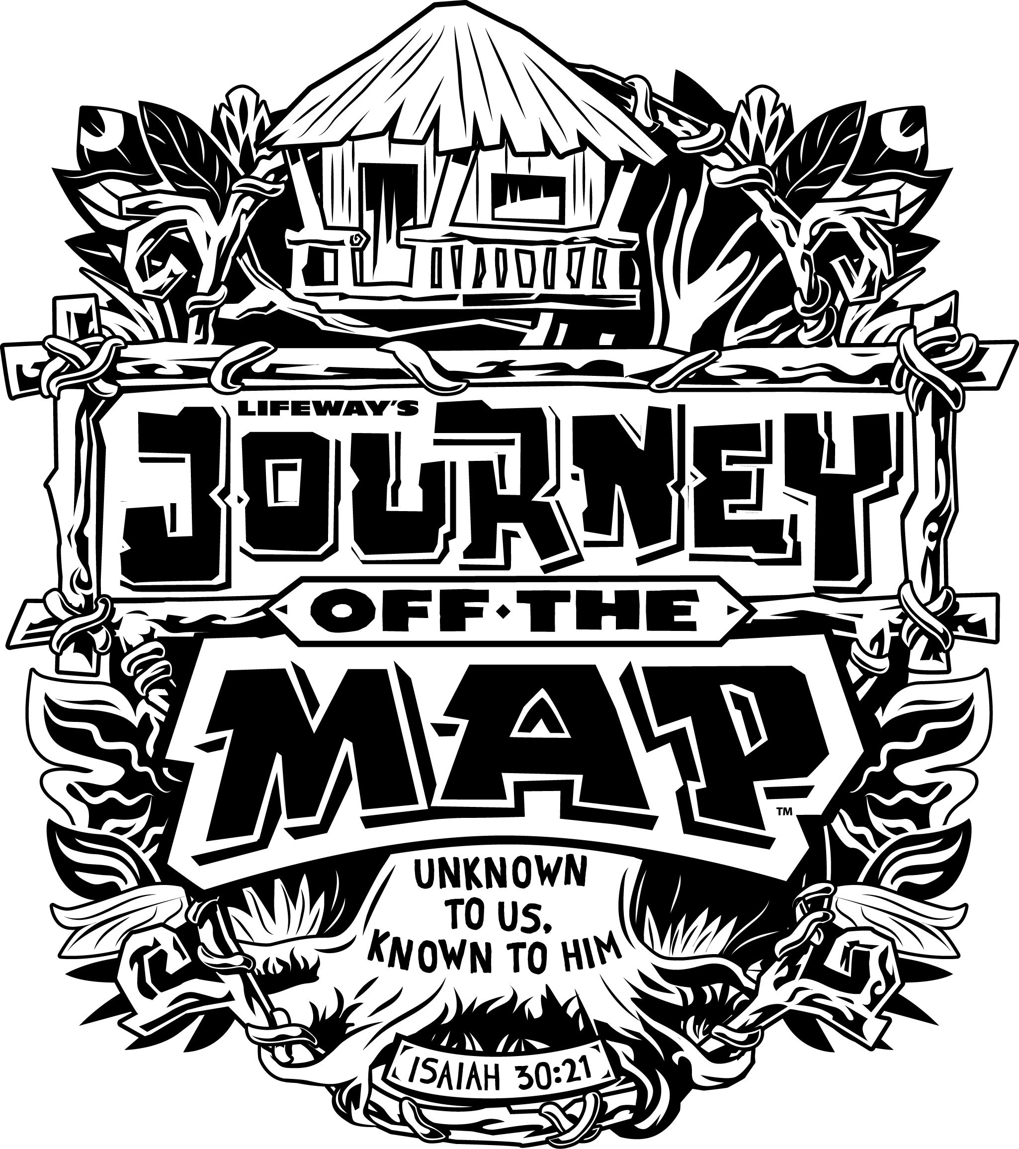 journey off the map vbs 2015 clipart.