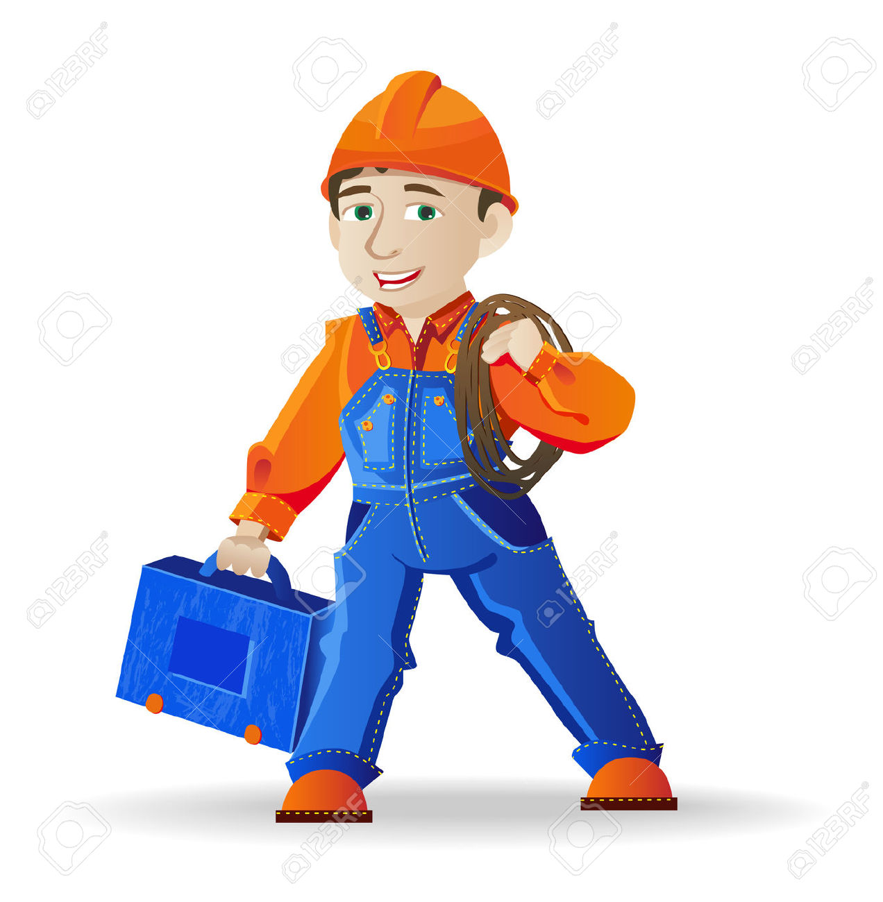Free electrician clipart images.
