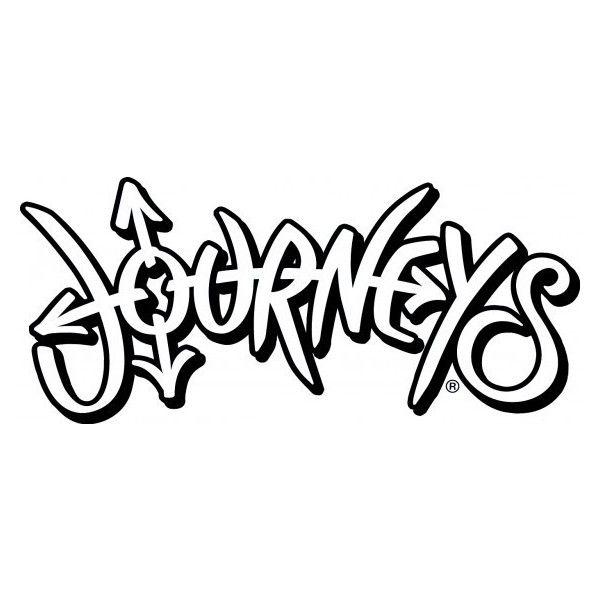 Journeys Logo ❤ liked on Polyvore.