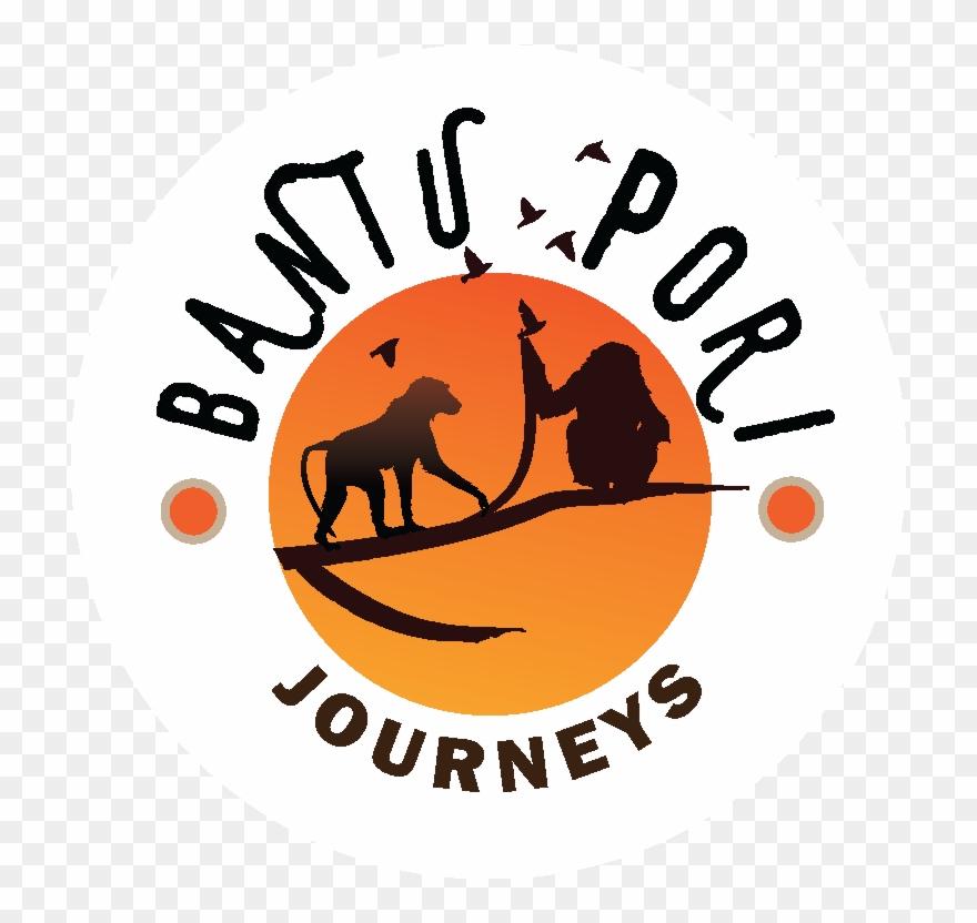 Bantu Pori Journeys Logo Clipart (#3070590).