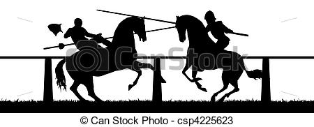 Jousting Clipart and Stock Illustrations. 257 Jousting vector EPS.