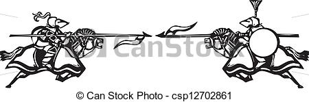 Joust Vector Clipart Illustrations. 155 Joust clip art vector EPS.