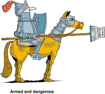 Image: Knight With Bible Lance.