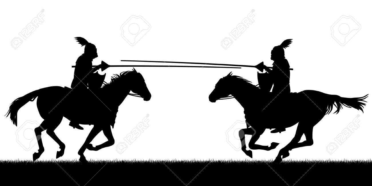 Jousting Tournament Clipart Clipground