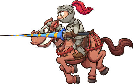 199 Jousting Stock Vector Illustration And Royalty Free Jousting.