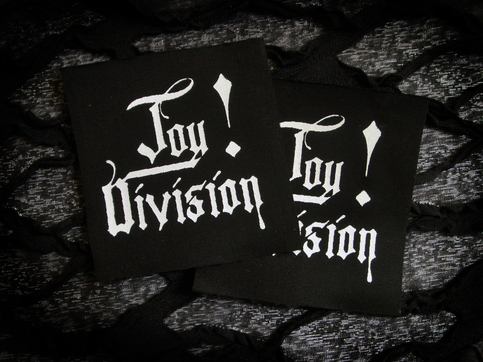 Joy Division Logo Goth Punk Patch.