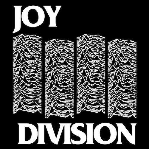 Black Flag Logo / Joy Division Unknown Pleasures Mash Up.
