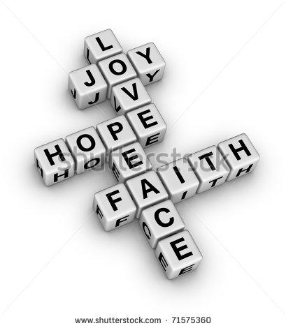 Joy Word Clipart.