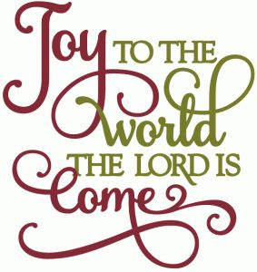 Joy To The World Round Clipart Clipground