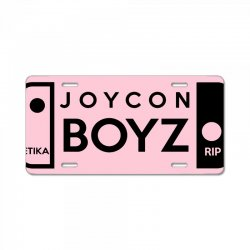 Joycon Boyz License Plate. By Artistshot.