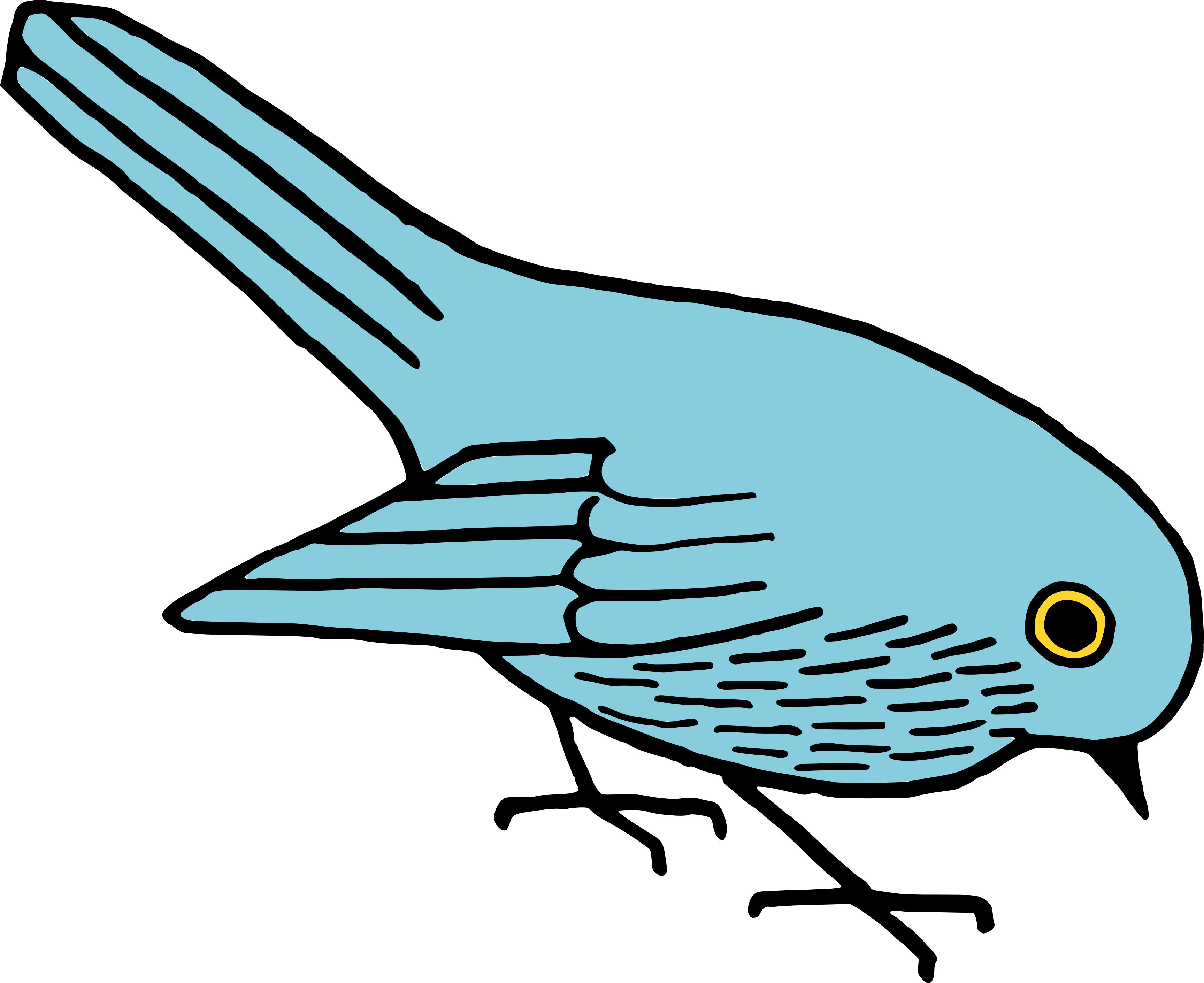 Free Clip Art Bird.