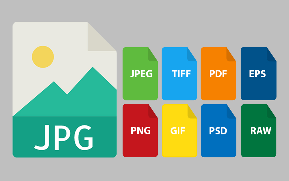 Difference between JPG and JPEG & Alongside other File Formats.