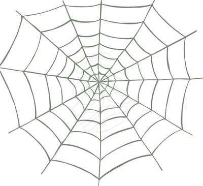 Spider Web Clipart Images.
