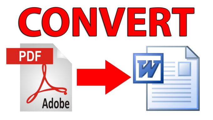 convert PDF to word or excel or jpeg or png.