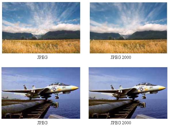 Image Processing And Pattern Recognition (BITI3313): JPEG 2000 VS JPEG.