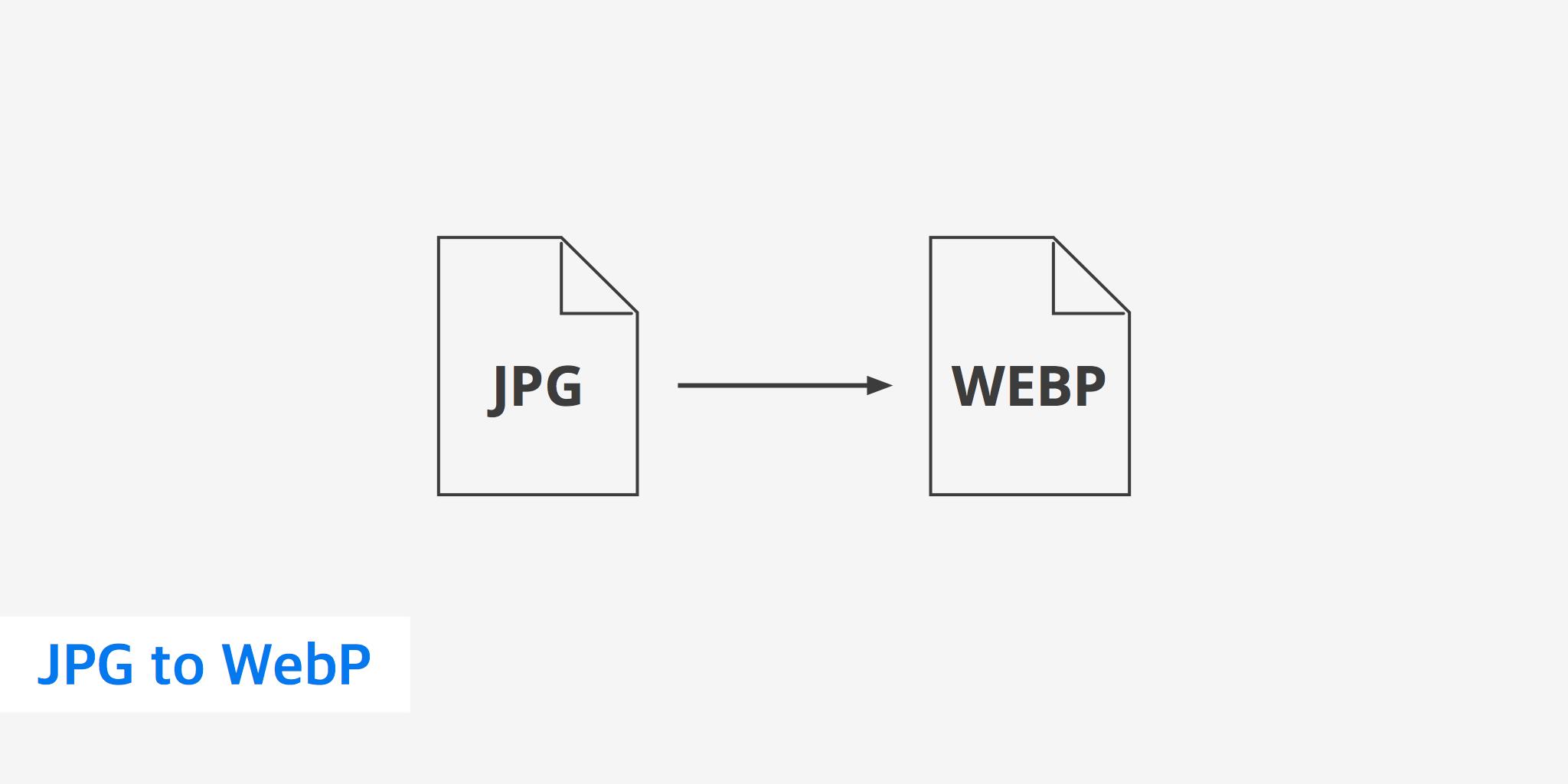 JPG to WebP.